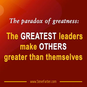Paradox Of Greatness