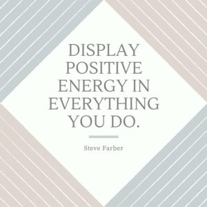 Display Positive Energy