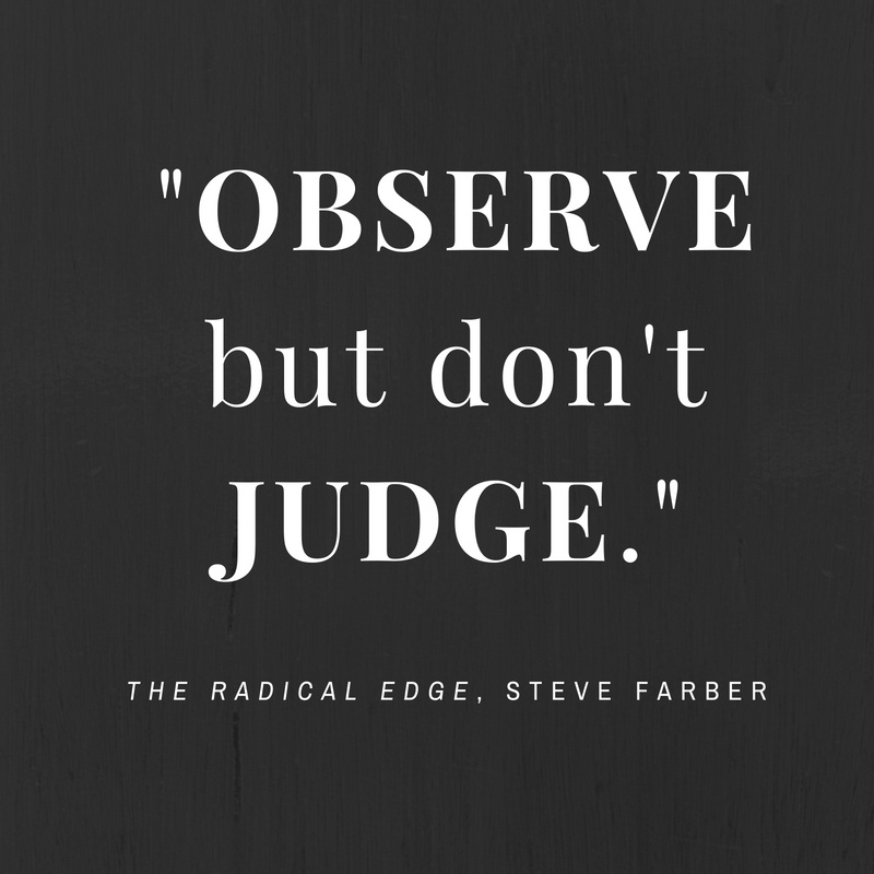observe-dont-judge