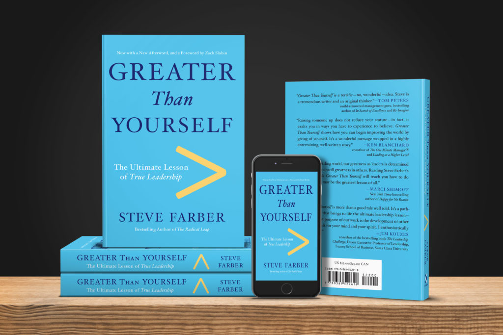 greater than yourself the ultimate lesson of true leadership